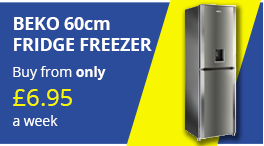 beko 60cm fridge freezer png