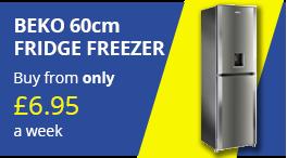 beko 60cm fridge freezer png