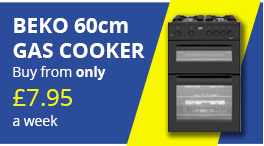 beko 60cm gas cooker png