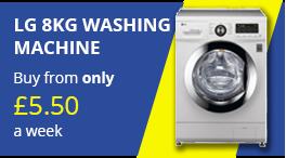 lg 8kg washing machine png