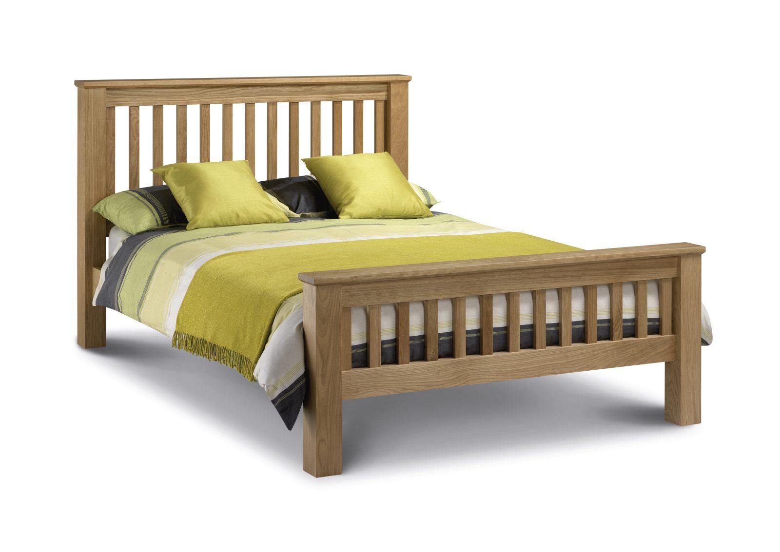 Amsterdam King Size Oak Bed Frame