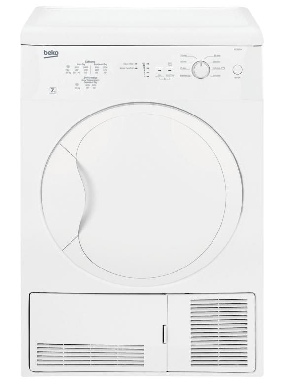 Beko 8kg condenser dryer