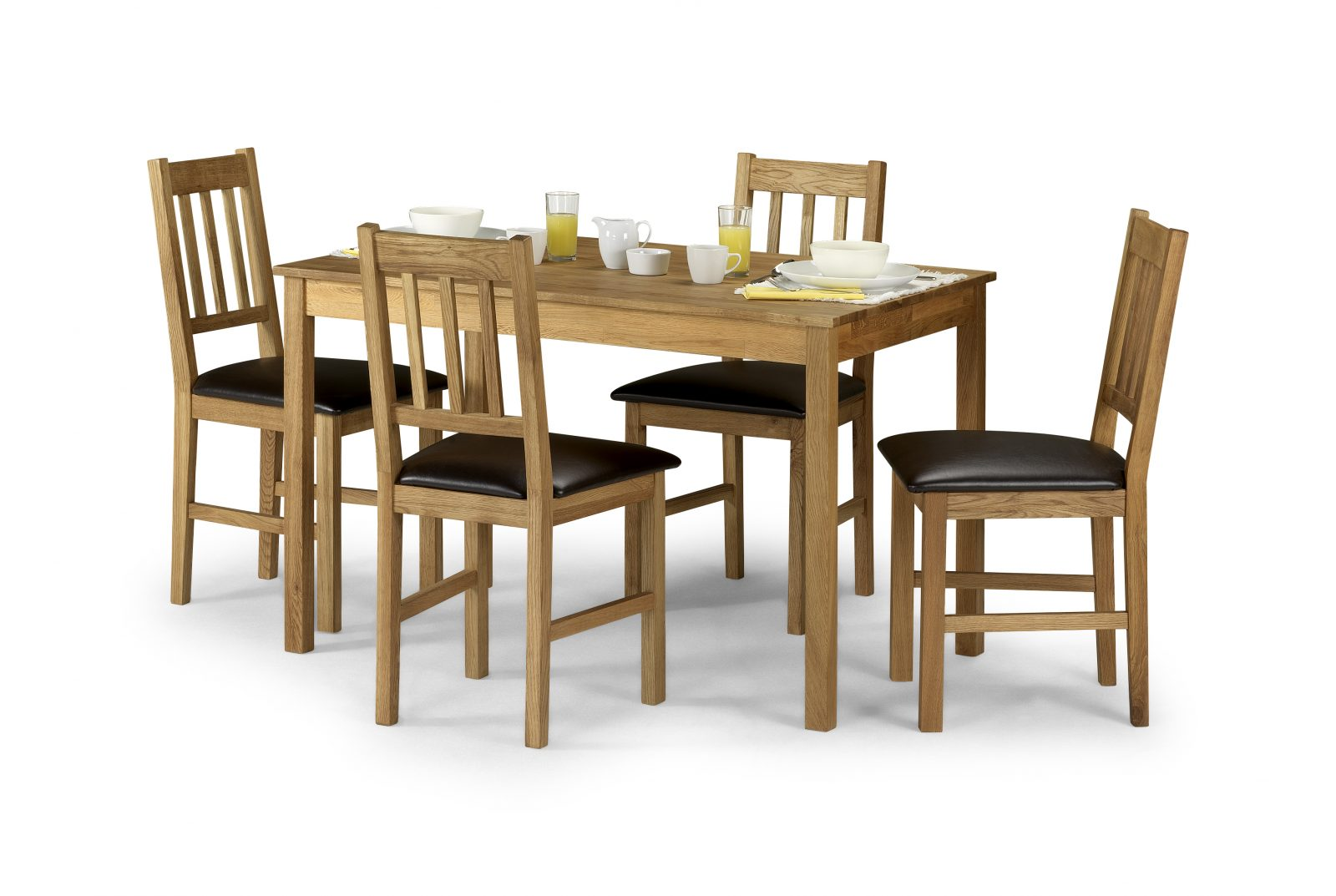 Copgrove Rectangular Table + 4 Chairs