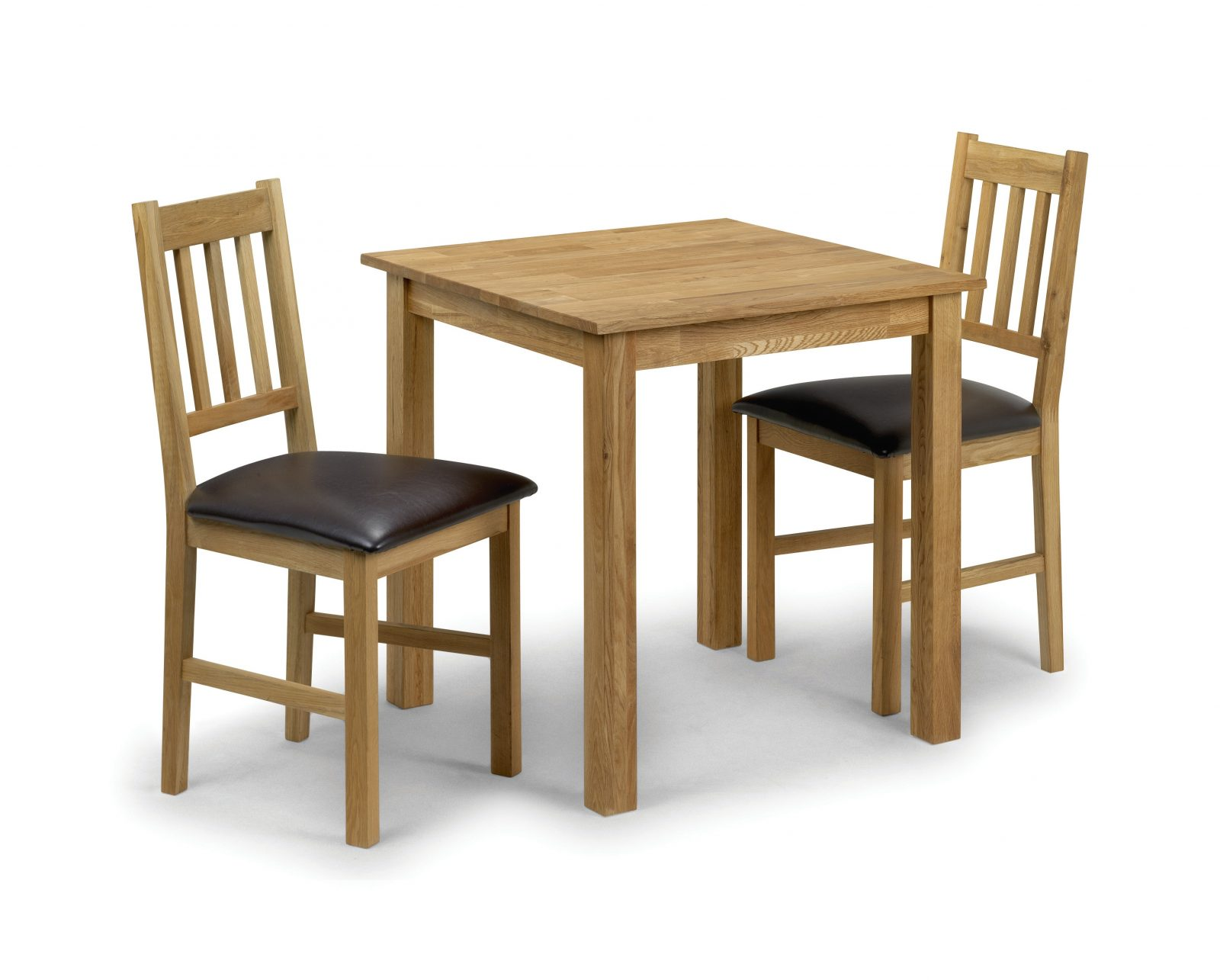 Copgrove Compact Square Table + 2 Chairs