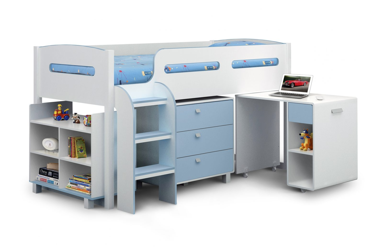 Kimbo Pink or Blue Cabin Bed