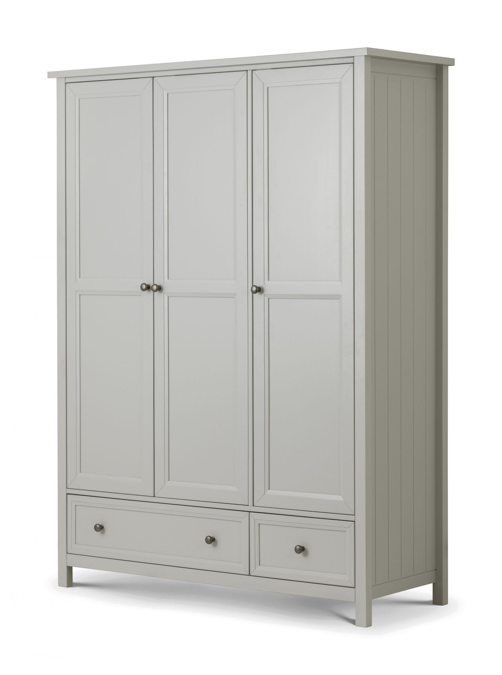 Maine 3 Door Combination Wardrobe