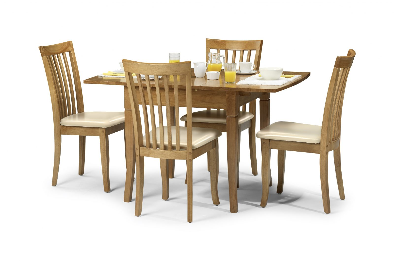 Newbury Extending Table + 4 Chairs **refurbished in stock for QUICK DELIVERY**