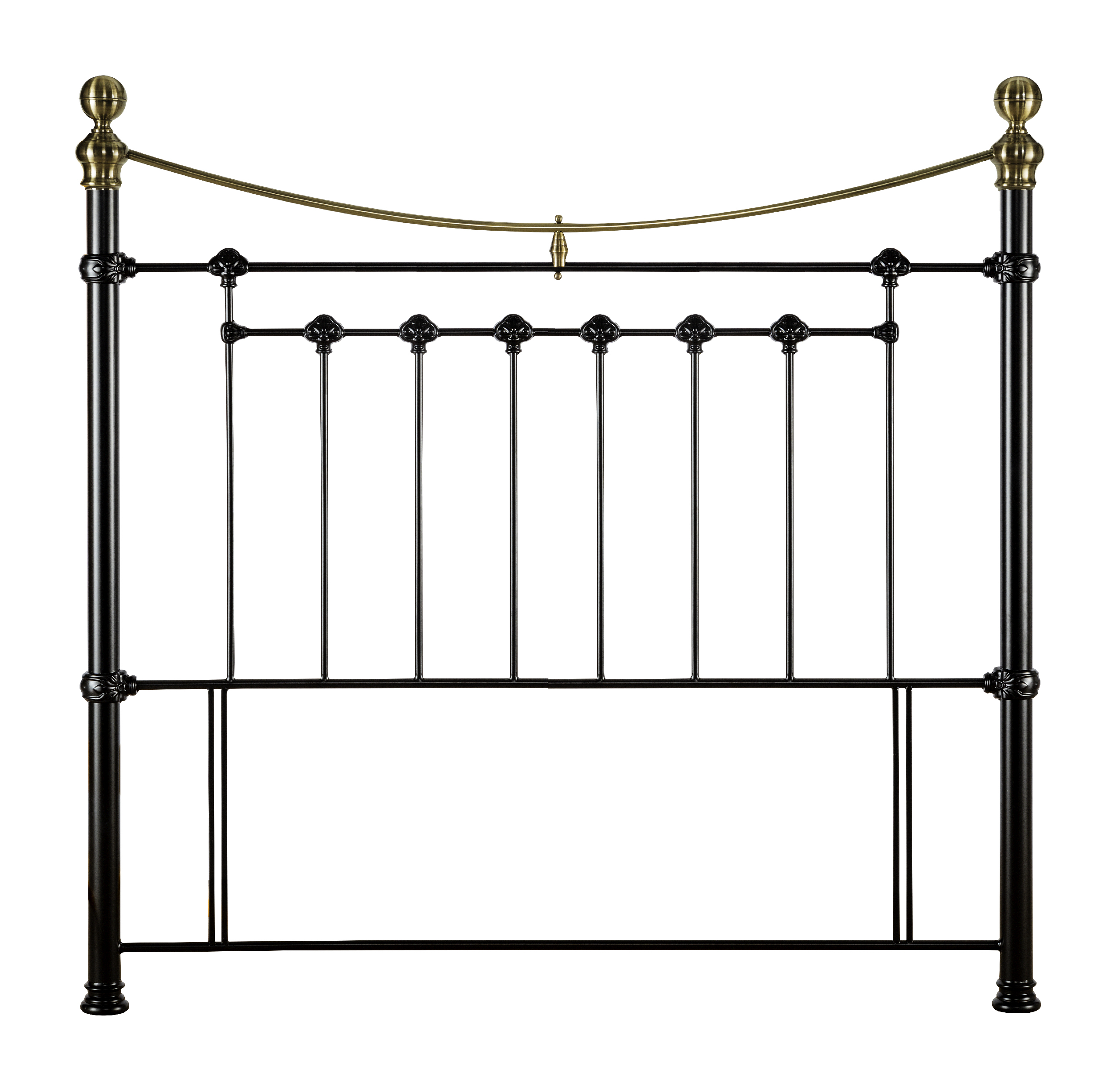 victoria king size metal bed frame pay weekly world. Black Bedroom Furniture Sets. Home Design Ideas