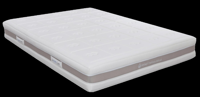 Pocket Memory Deluxe Mattress Range - 25cm