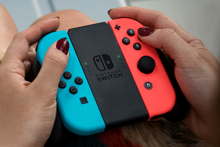 Nintendo Switch (choice of Grey or Red/Blue)