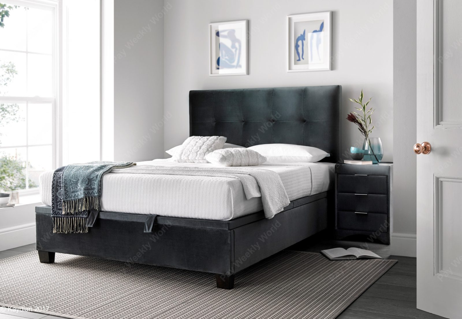 Walkworth Ottoman Cliffe Bed Frame – Double