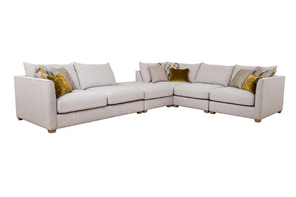 Laura Corner Sofa plus Armless Unit