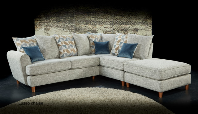 Lusso Small Chaise Sofa
