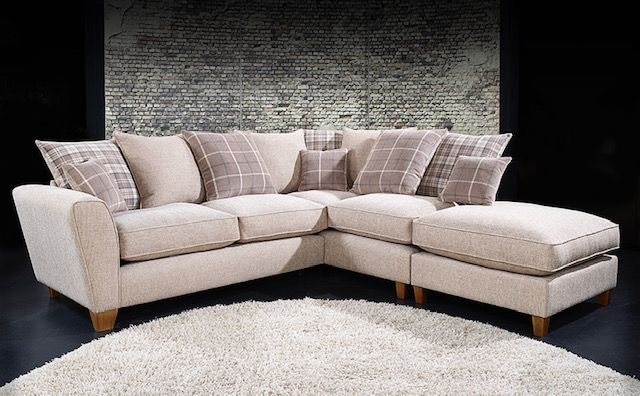 Lucy Small Chaise Sofa