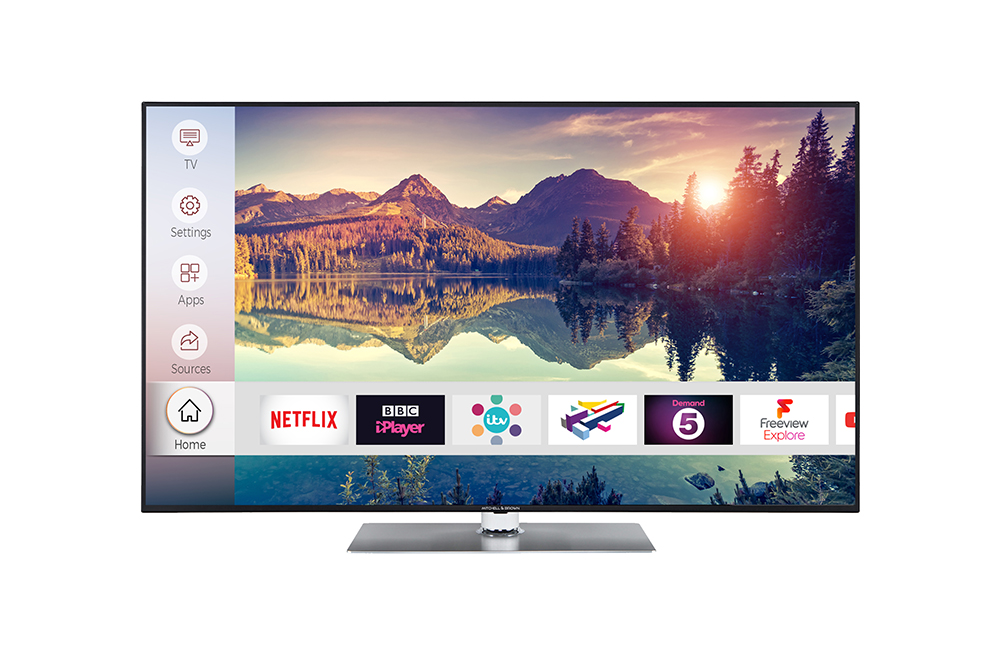 Mitchell Brown 65 inch 4K TV