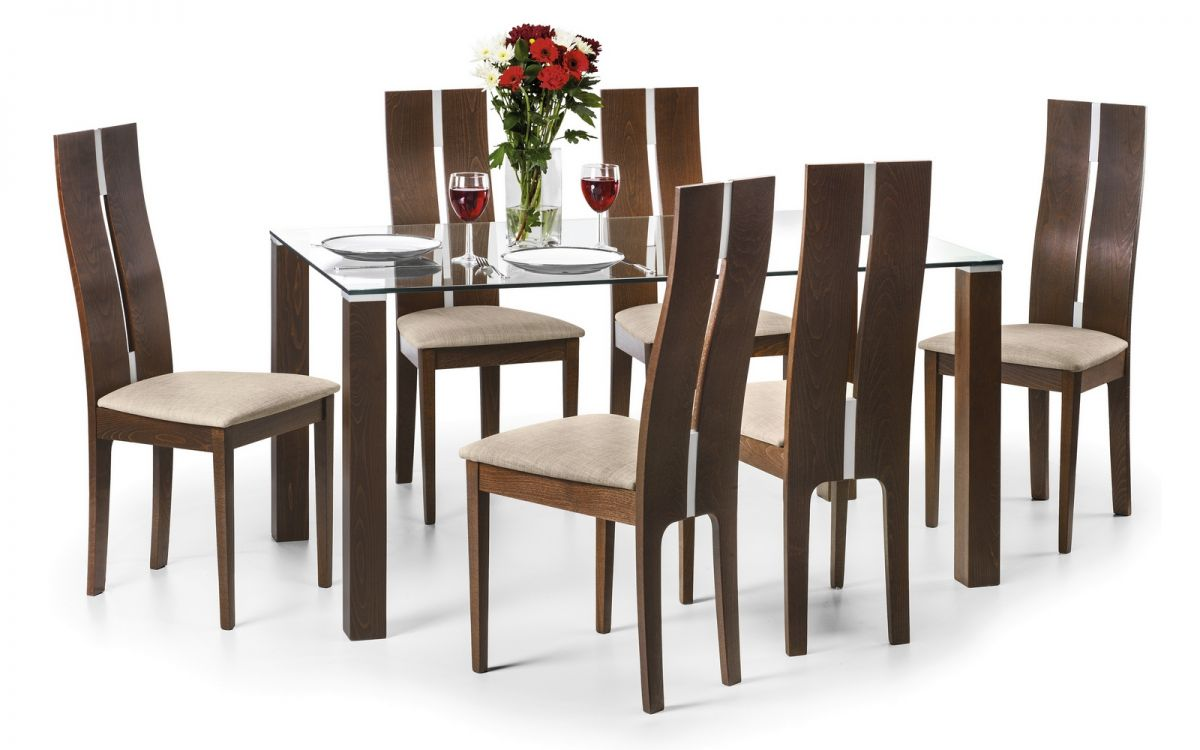 Cayman Table + 6 Chairs