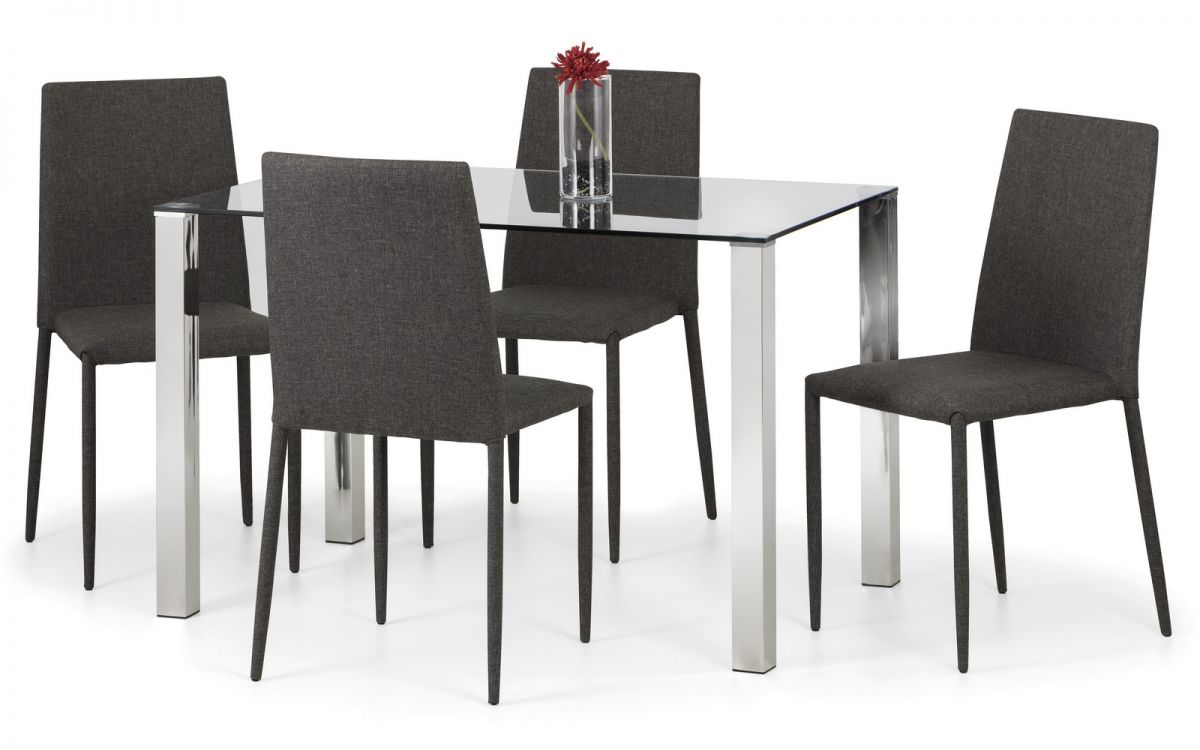 Enzo Table + 4 Chairs