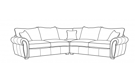 Flair Extra Large Corner Sofa *In stock-Please ask about spec*